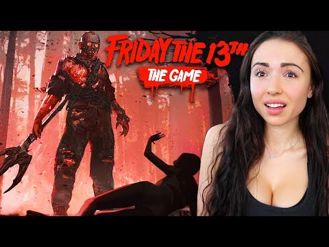 FRIDAY THE 13th GAME - JASON VS COUNSELORS!!