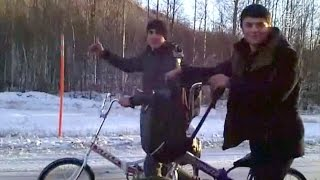 мигранты едут в Европу через российский север на велосипедах (новости)