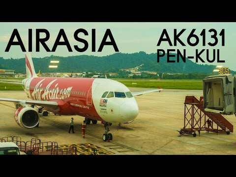 AirAsia AK6131 : Flying from Penang to Kuala Lumpur