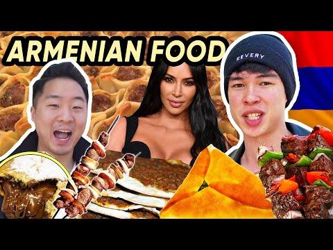 Kim Kardashians Favorite ARMENIAN Restaurant | Fung Bros