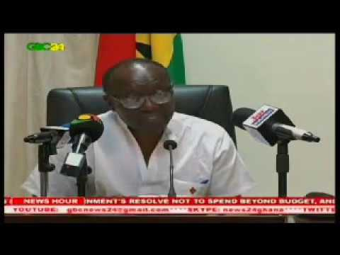 Ghana's Finance Minister, Mr Ken Ofori-Atta's first day in office