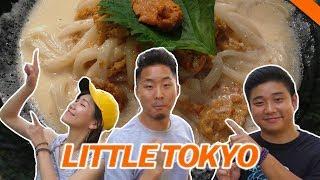 LITTLE TOKYO FOOD CRAWL w/ YUSUKE & NARISA - Fung Bros Food