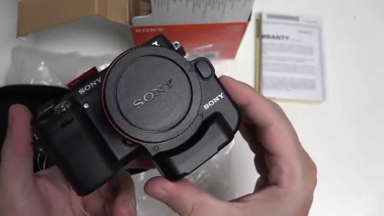 Sony LA-EA4 (E-Mount to A-Mount Full-frame Adapter) Unboxing and First Look