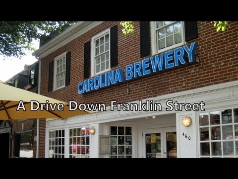 Video of Franklin Street from Chapel Hill to Carrboro