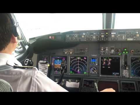 Aerolineas Argentinas - Boeing 737 800 - Procedimiento puesta en marcha y despegue .