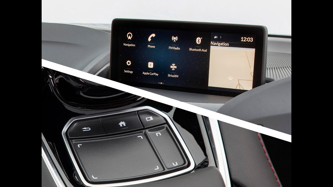 2019 Acura Touchpad Infotainment System Review