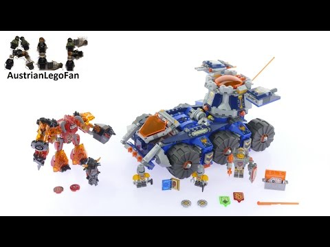 Lego Nexo Knights 70322 Axl´s Tower Carrier - Lego Speed Build Review