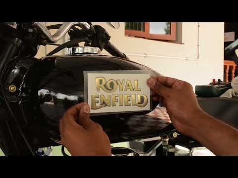 Royal Enfield Restoration|Fixing the emblem DIY