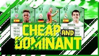 Fifa 17 Cheap Unbeatable OP Winning 75k Hybrid Squad Builder Ultimate Team