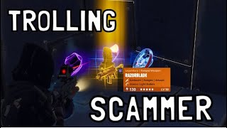 TROLLING Scammer gets Scammed in fortnite save the world pve - EazyDrop