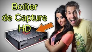 Unboxing avec Carole Quintaine du Game Capture HD 2 - Avermedia.