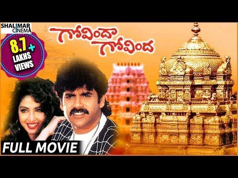 Govinda Govinda Telugu Full Length Movie || గోవిందా గోవింద సినిమా || Nagarjuna , Sridevi thumbnail