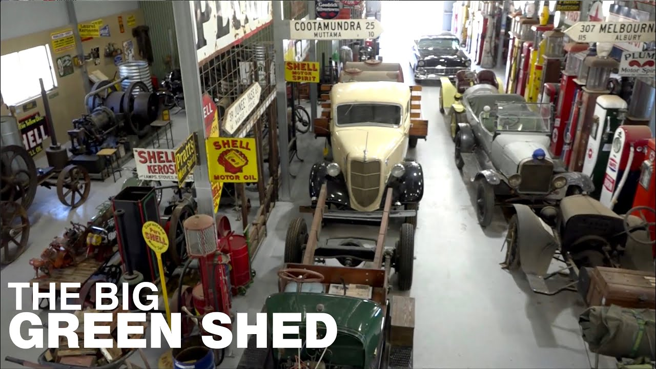 Lookout for the Big Green Shed: Classic Restos - Series 46