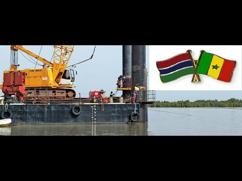 Trans-Gambia Bridge & Cross Boarder Improvement In Progress