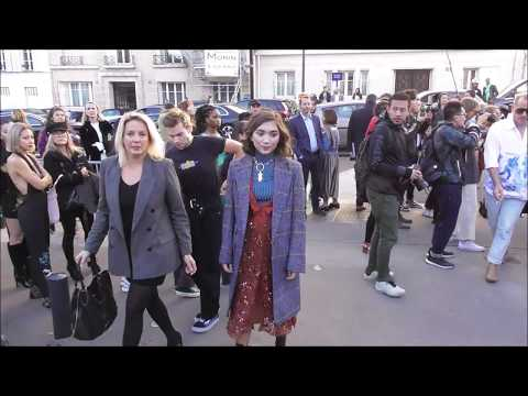 799d544601eb Rowan BLANCHARD   Paris Fashion Week 27 september 2018 show Chloé ...