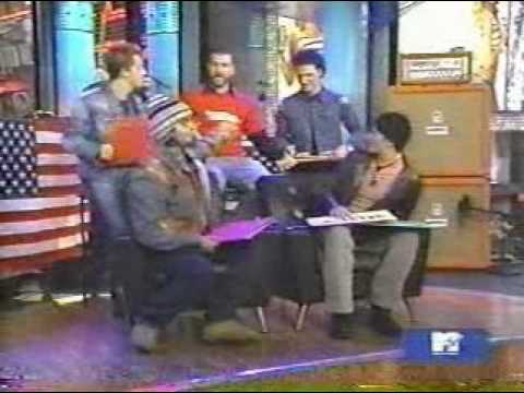 NSYNC playing a game 2001