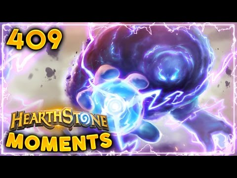Hearthstone Daily Un'Goro Moments Ep. 409 (Funny and Lucky Moments)