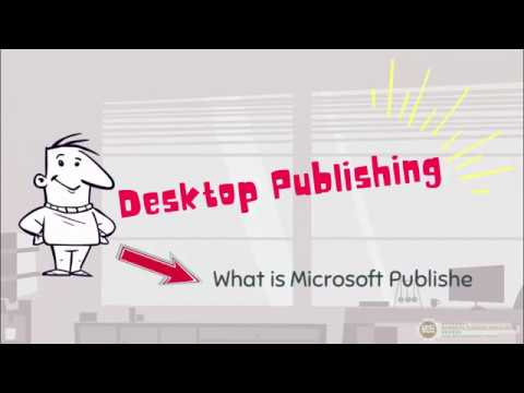 What is Microsoft Publisher?