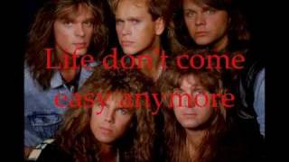 Europe - Prisoners In Paradise with Lyrics
