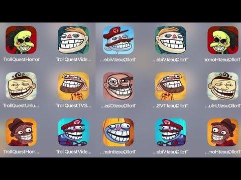 Troll Quest Horror,Troll Quest Video Meme,Troll Unlucky,Troll Video,Troll TV Show,Troll Clasic