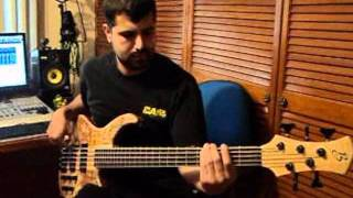 Bombella bass Modelo Maple funk 5.wmv