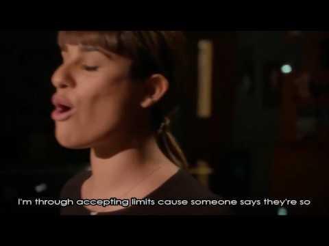 Glee - Defying Gravity Season 5 (Full Performance with Lyrics)