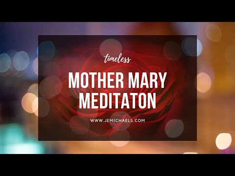 MEDITATION WITH MOTHER MARY (Guided Rose Garden for Healing, Restoration & Personal Messages) ❤️