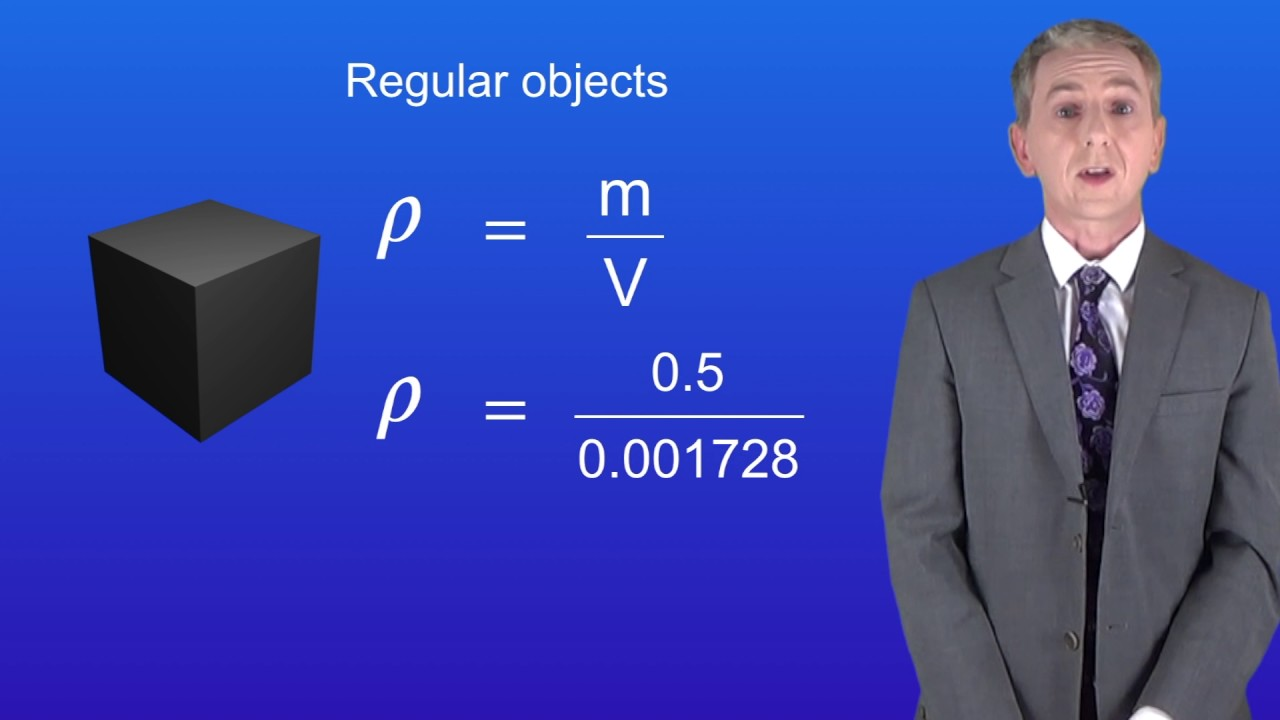 Gcse science physics required practical density youtube