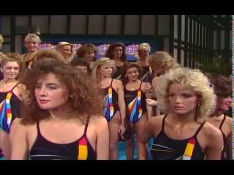 Na sowas! Contestants of Miss Europa 1986  Miss Európa 1986 résztvevői & Molnár Csilla Andrea