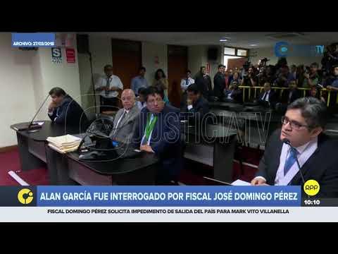 Video | El día en que José Domingo Pérez interrogó a Alan García en el juicio por el caso Hospitales