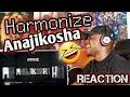 Harmonize - Anajikosha REACTION |DANCE