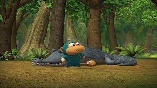 Обезьянки из космоса (Alien Monkeys) - Крокодил. Часть третья (39 серия)