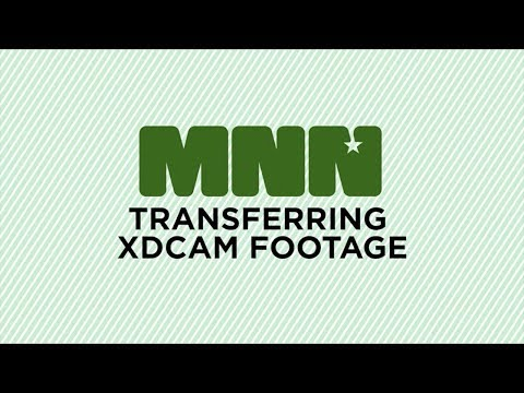 How to Transfer Footage from XDCAM Disc