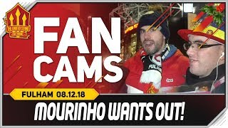 MOURINHO Wants Madrid! Manchester United 4-1 Fulham Fancam