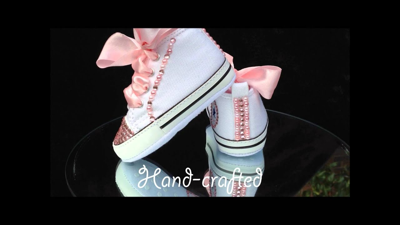 Converse All Star Baby Shoes Swarovski