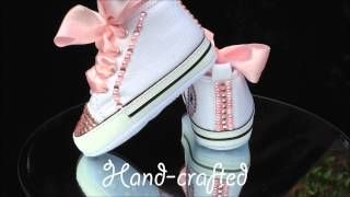 BLING Baby Converse Crib Shoes