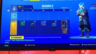 REACTING AND BUYING THE SEASON 5 BATTLE PASS!!! Fortnite battle royale