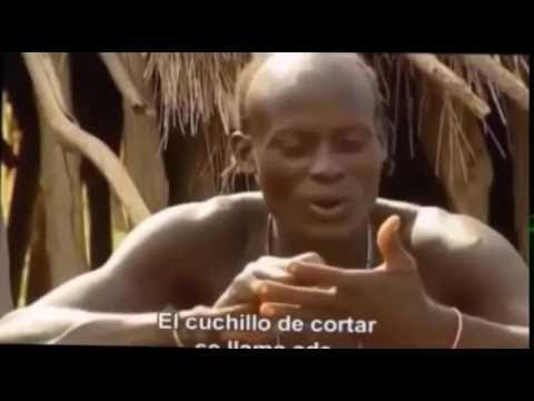 Himba tribes life at small african village red skin woman part3
