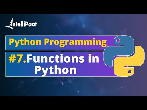 Functions in Python | How to Create Functions in Python | Python Functions Explained | Intellipaat thumbnail