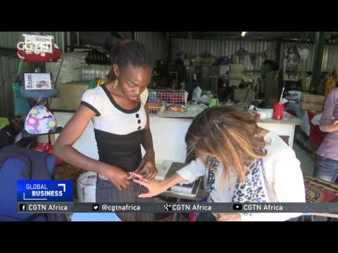 Entrepreneur in South Africa turns trash into household gems