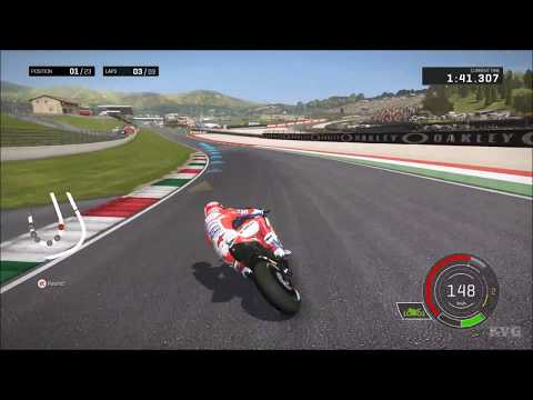 MotoGP 17 - Andrea Dovizioso Gameplay (PC HD) [1080p60FPS]