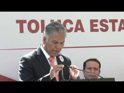 Distinguen a Toluca con la bandera de la Paz