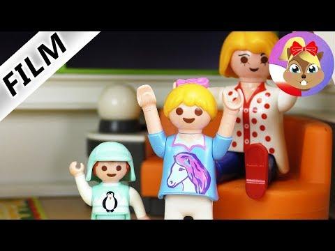 Playmobil Film polski   1 dzień rymowania: Hania vs.Emma - dozwolone tylko RYMY! Serial - Wróblewscy