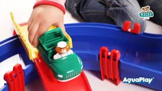 Vízi pálya gyerekeknek AquaPlay MegaBridge Bo kapi