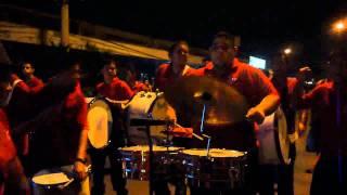 Banda Comunal de Música Latina, Santa Rosa de Pocosol, Costa Rica. Sólo de timbal