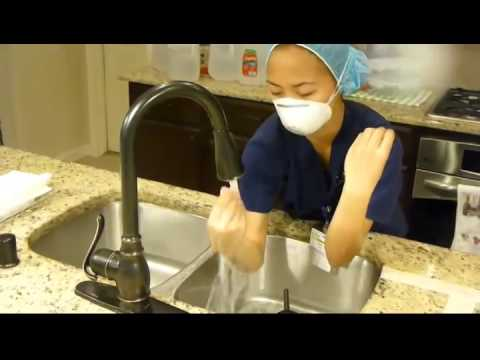 hand hygiene and aseptic technique The cdc recommends a 15-second hand washing for adequate infection control 8 experts in pharmacy aseptic technique indicate that 30 seconds of soapy friction are needed among pharmacy workers 7 a 10-second rinse and run, however, is common among health care workers 9,10.