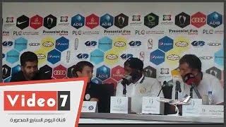 """بالفيديو..مدرب الجزيرة الإماراتى """"أغلب مدربين النادى من المصريين ونأمل في مساندة جمهور الزمالك لنا"""""""