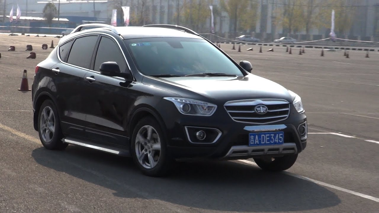 FAW Besturn X80 SUV 2014 by 3D model store Humster3D.com - YouTube