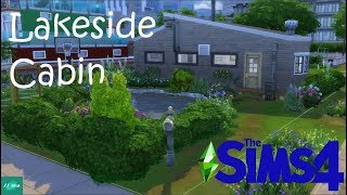 The Sims 4//Lakeside Cabin//Speed Build//Base Game / Видео