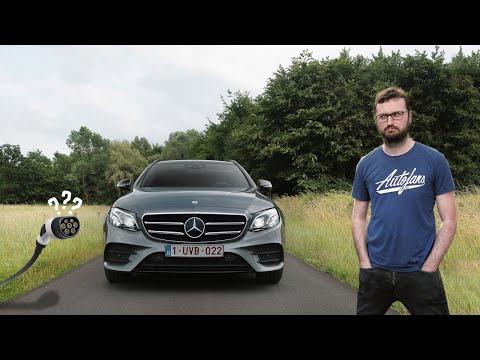 Mercedes E 300 de Break is diesel met stekker - Review